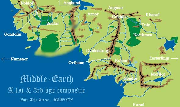 Dbm middle earth army lists middle earth image map gumiabroncs Gallery
